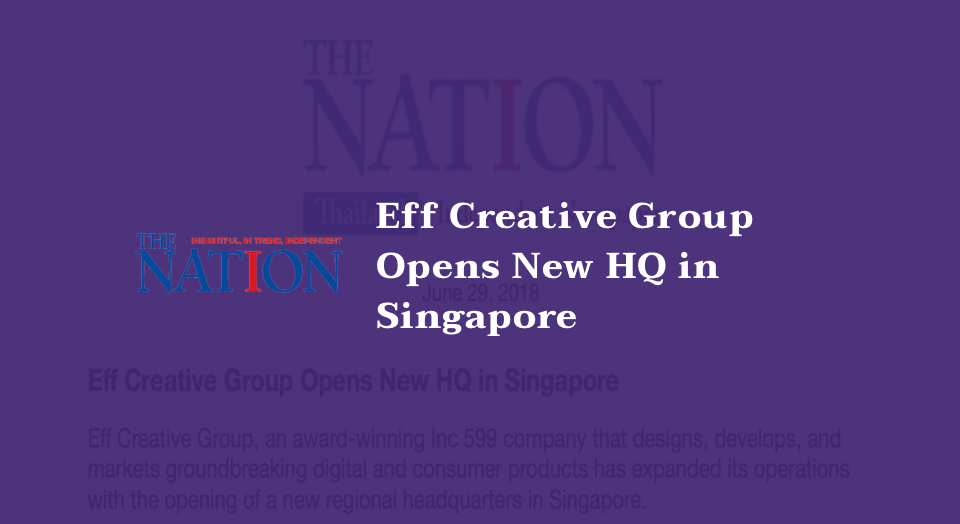 Group opens new HQ in Singapore