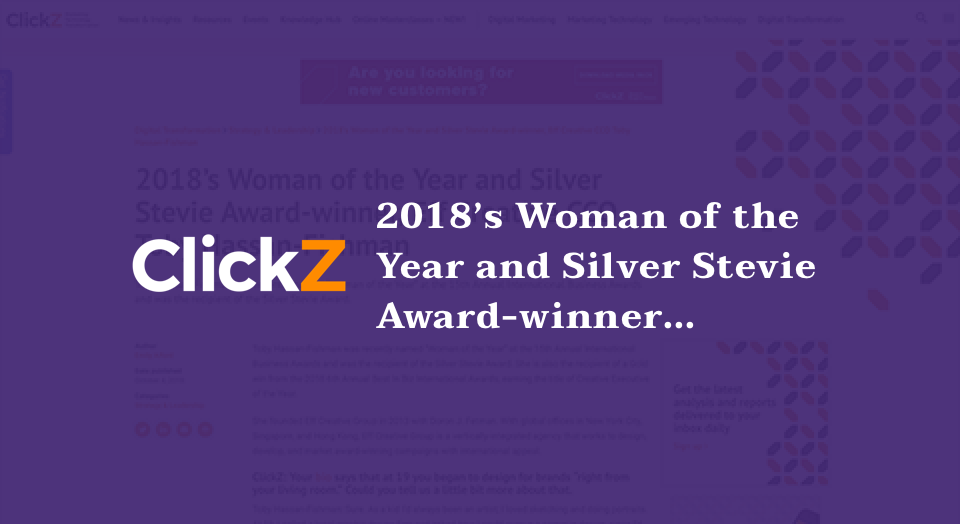 Click Z woman of the year