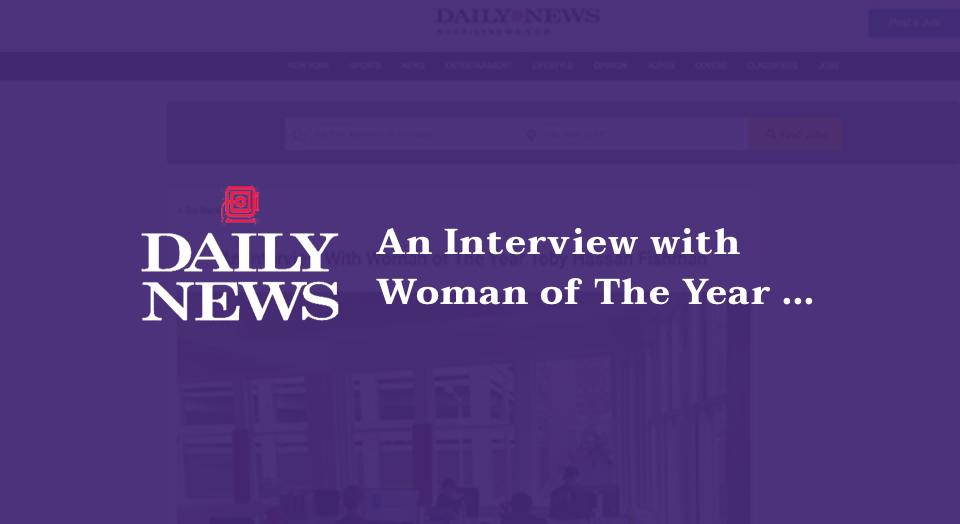 An Interview With Woman of The Year Toby Hassan Fishman